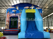 2017 hote sale bouncer inflatables slide/bouncer baby/airflow bouncer
