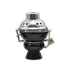 Hookah Heat Keeper Device Clay Ceramic e Hookah Head Shisha Thai Charcoal Burner Holder Bowl For Shisha Chicha Narguile Bowl