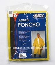 Disposable Adult Pocket Poncho,Adult Rain Poncho Emergency Poncho