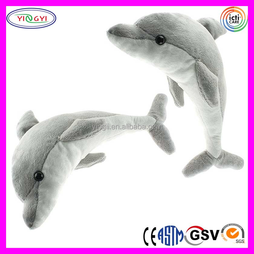 C347 Big Dolphin Stuffed Animal Soft Adorable Sea Animal Plush
