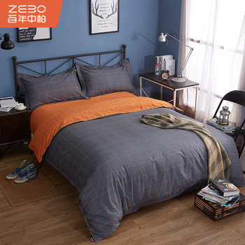 Customize Comfortable Single Bed Sheets Queen Size Sheet Cotton Set