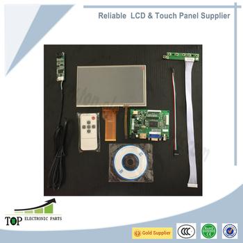 Raspberry Pi 3 \ Orange Pi \ Banana Pi 7 Inch Lcd Display Touch Screen  Digitizer Hdmi Vga Av Drive Board Controller Board - Buy 7inch  Lcd,Raspberry Pi