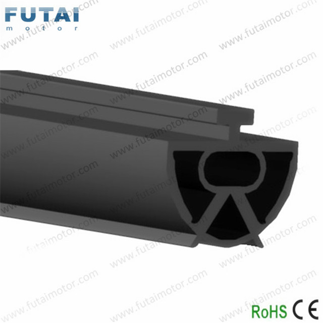 R-103 EPDM rubber profile safety edge