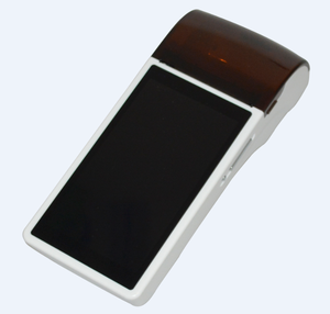 Mobile POS Terminal with Android System, 58mm Thermal Printer, Camera for 1D/2D Barcode Scanning
