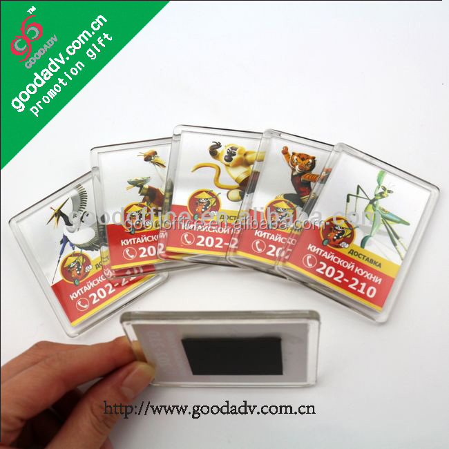 2014 rectangle high quality promotion gifts novelty product tourist fridge magnet