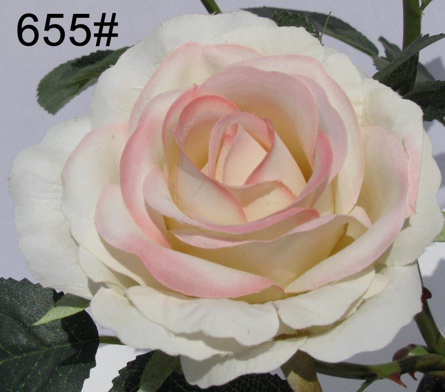 1 piece artificial rose silk flower home wedding DIY decoration