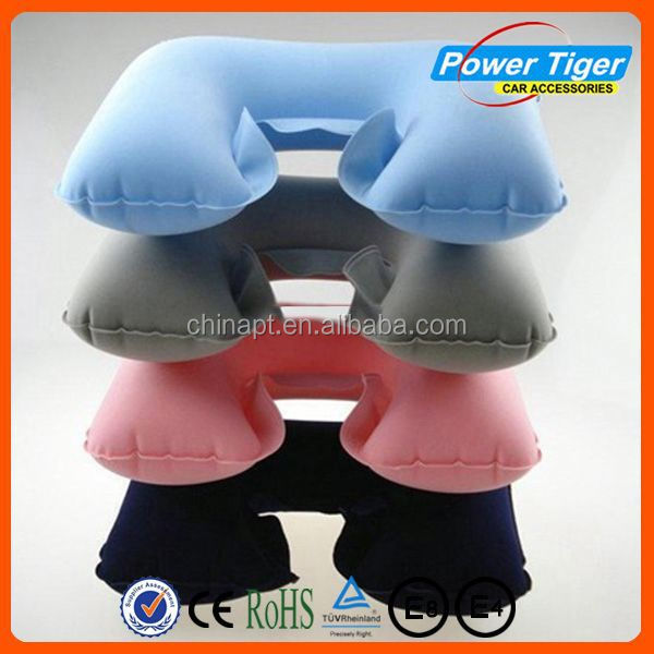 2014 fashion inflatabe neck pillow travle neck comfort pillows