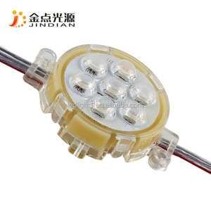 Waterproof Building decorate LED 50mm RGB led pixel lights