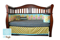 10pc Baby Crib Nursery Bedding Sets Made of 100% Cotton
