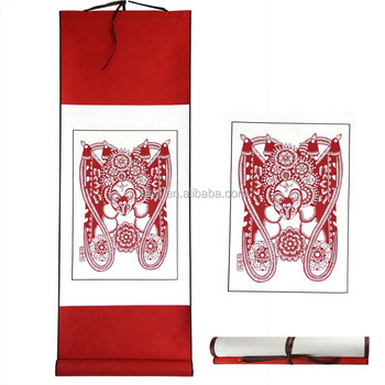 Chinese New Year Gifts China Scroll Paper-cut