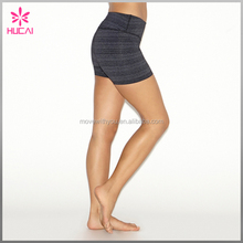 Wholesale Cotton Polyester ActiveWear Womens Tight Yog Sports Shorts