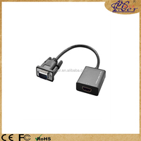 Opp bag vga to HDMI converter with usb