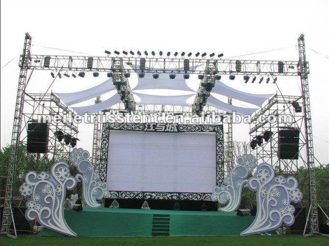 Fashion Show Stage Lighting Truss System Lightweight Roof Systems Product On Alibaba