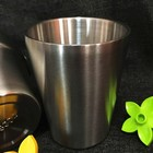 Stainless Steel Double Wall Metal Wine Tumbler Insulated Cup Vacuum Mug 300ml