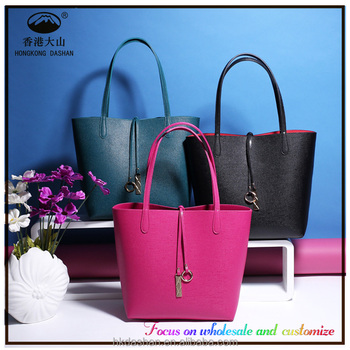 Custom New Wholesale Genuine Leather Women Handbag 42f3037106661