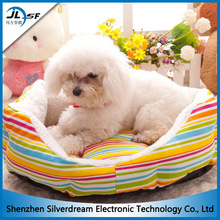 Soft Plush Indoor Dog Bed Crib , Small Round Bed for Dog