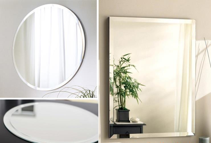 nuevo cuarto de bao sin marco biselado espejo de cristal precio