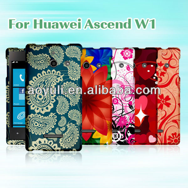 Case for Huawei W1,eco-friedly phone case for Hua wei W1