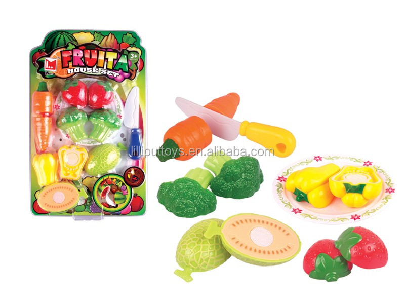 Realistic Toy Food : Funny realistic cutting food set toy for child buy