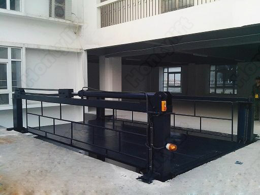 Underground Car Lift Stand Garage