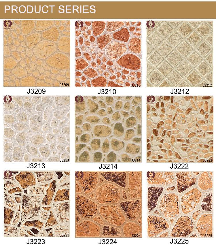 Stone Design 300x300mm Outdoor Ceramic Tile Flooring Prices For