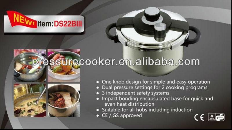 Пружинная система из нержавеющей стали кухонная посуда бакелитовая ручка с двумя стрелами давления + плита