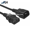 High quality H05vv-f C13 to C14 Connector Power Extension Cord with UK Plug