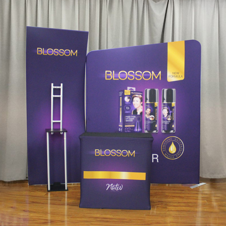 China convention double deck booth displays exhibition booth display for advertising