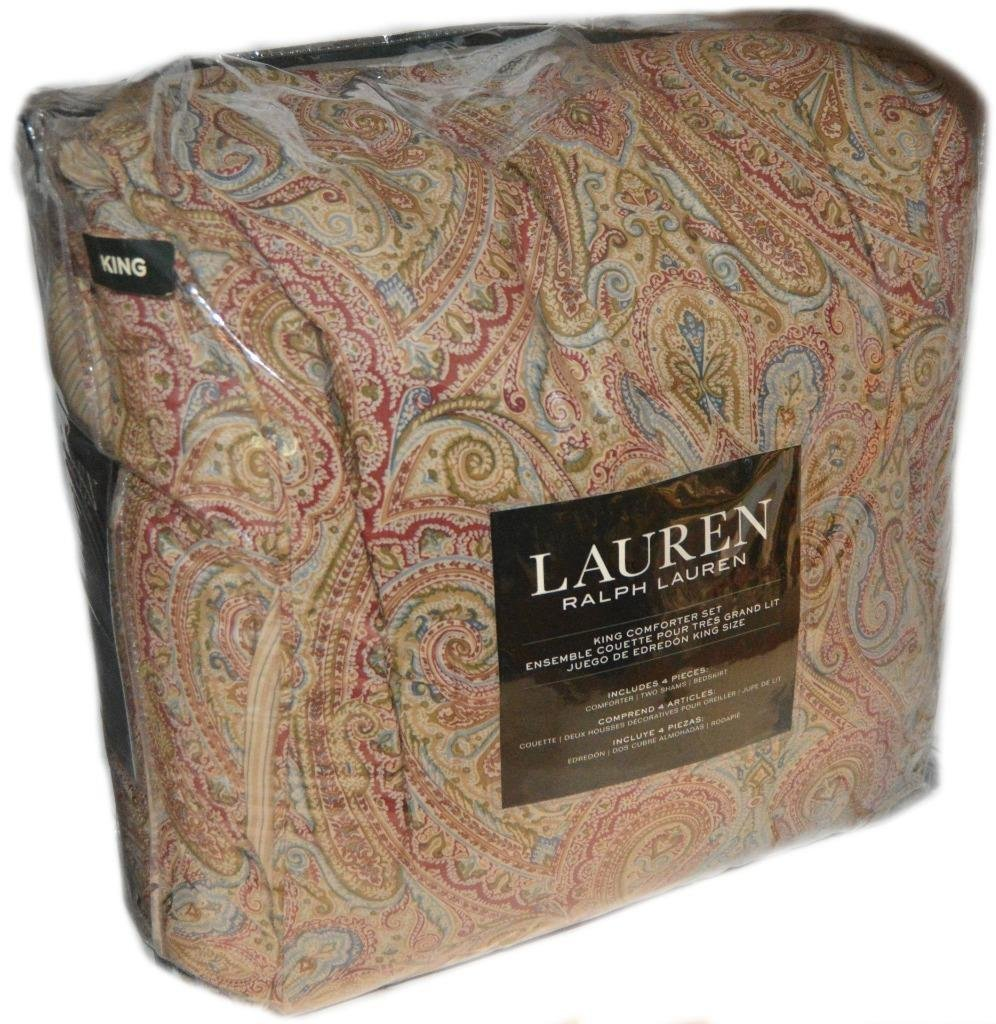 Picture of: Buy Ralph Lauren Fenton Paisley King Comforter Set 4 Pieces In Cheap Price On Alibaba Com