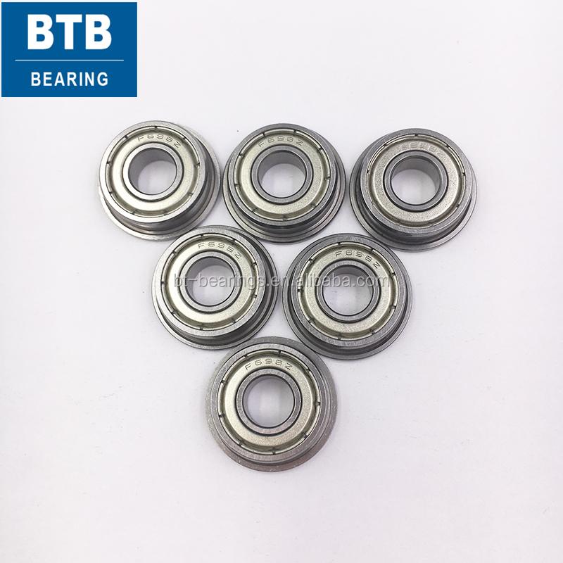 Metric Metal FLANGE Ball Bearing 10*15*4 F6700z 10x15x4mm 25pcs F6700zz