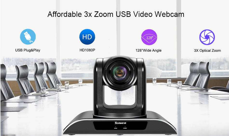 Low price HD color pan tilt zoom control Live streaming camera for broadcast