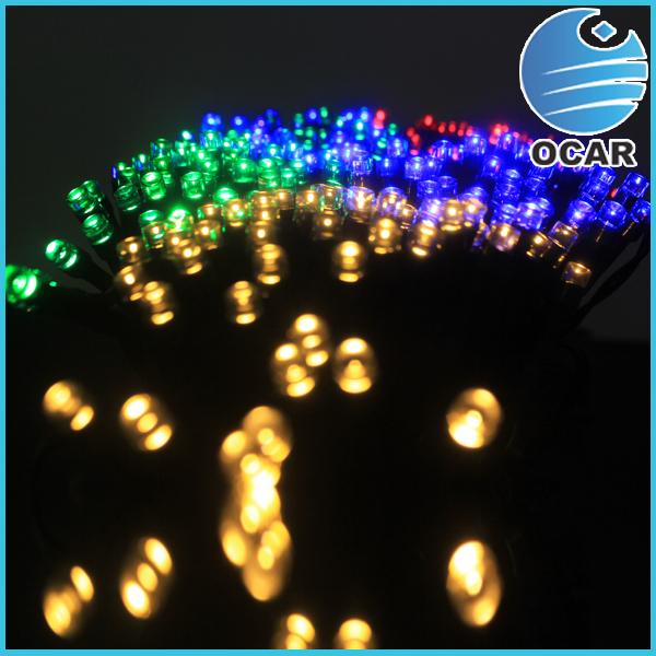 Solar 100 Bulbs 10 Meters Decoration Rice Lights Led Christmas ...