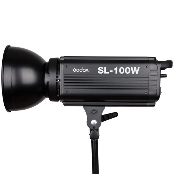 Godox SL-100W 100WS Studio Continuous Video Light Lamp Bowens ...
