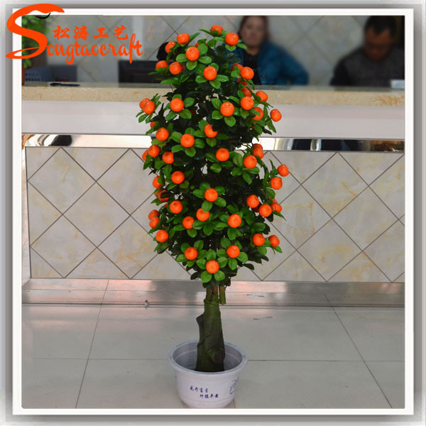 lucy decorative artificial orange tree for hotel decoration - Orange Hotel Decoration