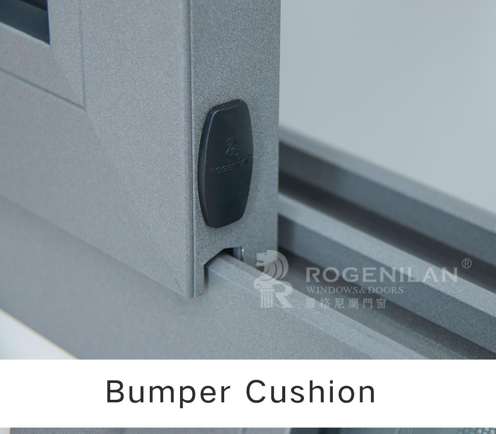 Rogenilan 100 Series Kitchen Balcony Double Glazed Aluminum Sliding ...