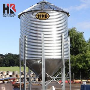 100ton 200ton 500ton 1000ton Poultry Feed Used Silo Horse Feed Bins