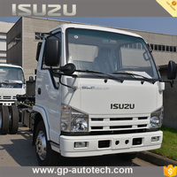 2017 hot style ISUZU chassis single and double cab options for sale cargo truck with different color option brand Wholesale