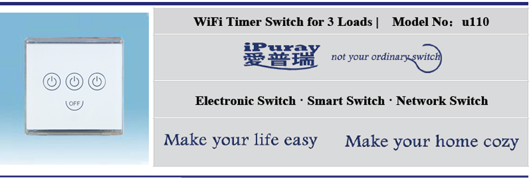 Crystal Glass Panel 3 Gang 3 Way Wall Switch Wifi Mobile Phone App Control  Touch Switch - Buy 3 Gang 3 Way Wall Switch,Glass Panel 3 Gang 3 Way Wall