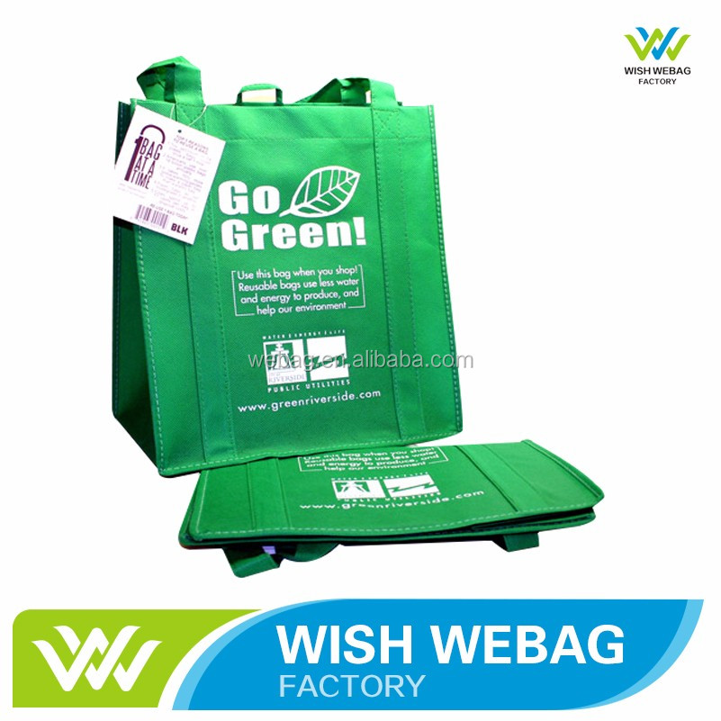 High Quality lead free custom indoor non woven polypropylene shopper bag