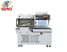 hot shrink packing machine(CE) automatic l sealer machine auto shrinking tunnel hot shrink wrap machine film shrink packing