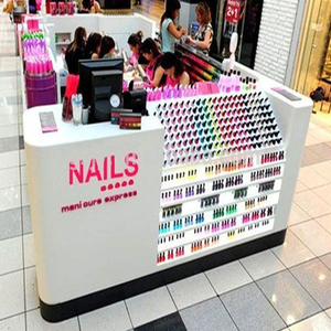2016 nail salon furniture for nail polish display