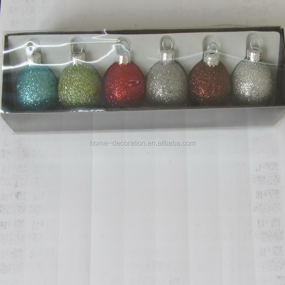 wholesale cheapest small murano christmas balls glass made in China