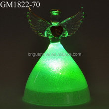 Crafts Angel Figurine Gifts/ Cheap Glass Angel Gifts