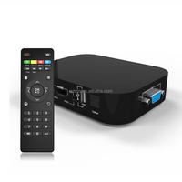 3d blue-ray full hd media player , Supports plug and play function and VGA output