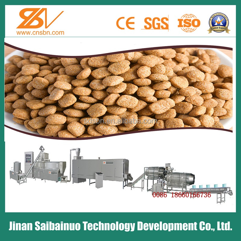 Good quality Automatic Dog and Cat Food Machinery