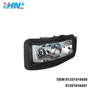truck body parts head lamp for auto spare parts 81251016450 81251016451 for MAN