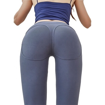 Athletic Women High Waisted Workout Leggings Custom Wholesale Ladies Girls Mesh Yoga Leggings Fitness