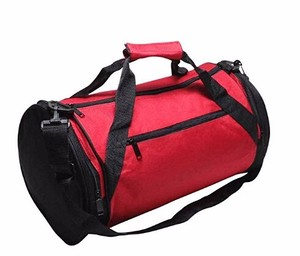 "Waterproof Round Duffel Bag Travel Camping Sports Bag 20"" Round Duffle Roll Gym Traveling Bag"