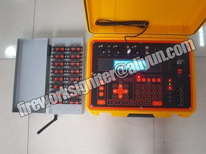 pyromusic fireworks firing system,wireless control, fireworks launcher