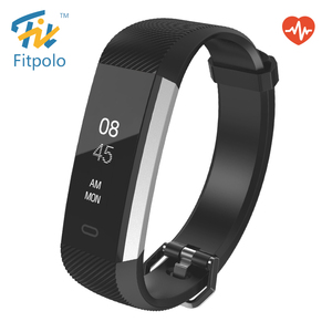 Fitpolo ce rohs waterproof calorie wristband smart fitness band foot step counter for man and woman